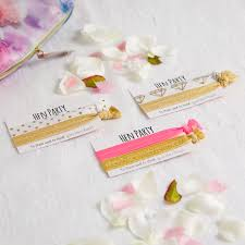 party favours hen party hair ties hair ties hen party favours bridal