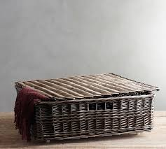 Pottery Barn Willow Table Willow Underbed Basket Pottery Barn