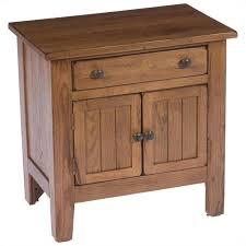 Natural Nightstand Broyhill Attic Heirlooms Door Nightstand In Natural Oak Stain