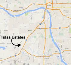 Tulsa Map Location U2014 Tulsa Estates Mobile Home Park