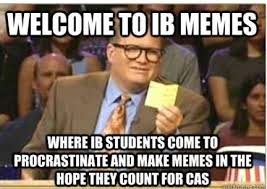 Student Meme - 15 sign shows that you were an ib student hostel hunting blog