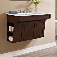 White Wall Mounted Bathroom Cabinets by Bathroom White Wall Mounted Bathroom Vanity With Vessel Sinks And