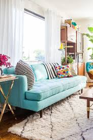 Teal Armchair For Sale 84 Affordable Amazing Sofas Under 1000 Emily Henderson