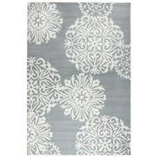 Medallion Outdoor Rug Medallion 5 X 7 Outdoor Rugs Rugs The Home Depot