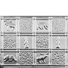 Gwens Cabin Aluminum Backsplash Tile - Aluminum backsplash