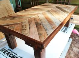 The Feminist Mystique Diy Rustic Wood Coffee Table Farm Table by Http Beachbumlivin Com Made From Pallet Wood Coffee Table Diy