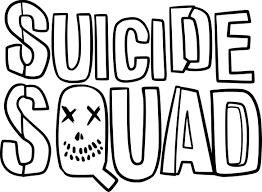 Coloriage Suicide Squad à imprimer