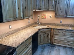 Rustic Hickory Kitchen Cabinets by Amish Kitchen Cabinets