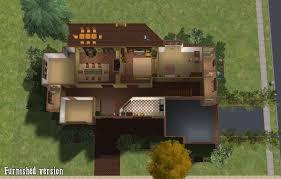 Donald Gardner Architect by Mod The Sims Donald Gardner U0027s The Roark Basegame No Cc House