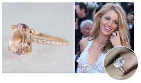 Blake Lively Wedding Ring unique celebrity engagement rings abby sparks jewelry