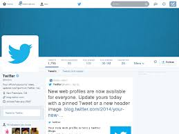 layout of twitter page design for twitter s new ui header template by gwennie chan on