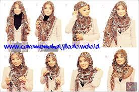 tutorial hijab paris zaskia tutorial hijab bawal beri leopard ala zaskia adya mecca cara