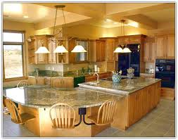 large kitchen island with seating for 4 home design ideas