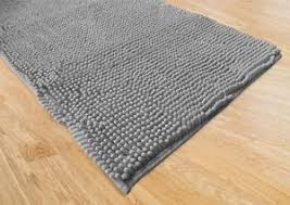 tappeti bagni moderni tappeto bagno moderno spaghetti grigio cm 65x130 ebay