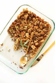 What Do We Give Thanks For On Thanksgiving Simple Vegan Stuffing Minimalist Baker Recipes