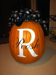 Picture Of Halloween Pumpkins - best 25 monogram pumpkin ideas on pinterest fake pumpkins
