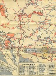 nevada road map road map pictures getty images