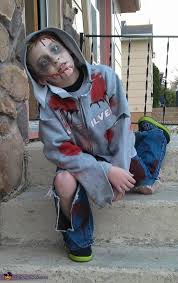 Kids Zombie Costume Child Zombie Halloween Costume