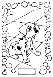 101 dalmatians coloring pages free coloring pages