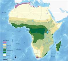 africa map climate zones climate zones