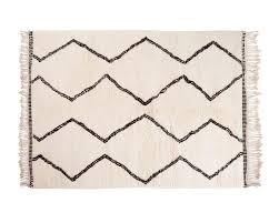 rug moroccan style rugs beni ourain berber handmade fair trade
