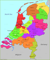 netherlands map netherlands map map of netherlands annamap