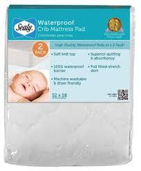 best waterproof crib mattress pad reviews