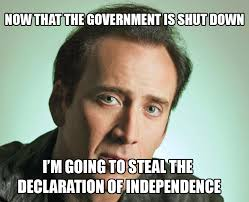 Shutdown Meme - nic cage 2013 u s government shutdown know your meme