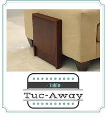 space saving end table tucaway side table perfect for saving space a thrifty diva