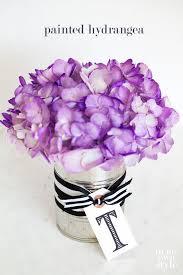 hydrangeas flowers spray painted hydrangeas flowers in my own style