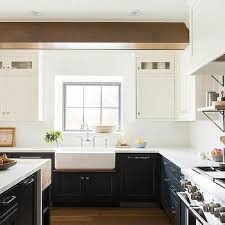 white cabinets brown lower cabinets in kitchen white cabinets lower cabinets design ideas
