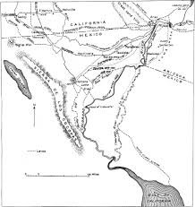 Yuma Arizona Map by Usgs Geological Survey Bulletin 845 Itinerary