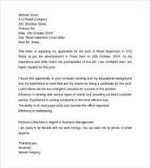20 supervisor cover letter example letter of authorization