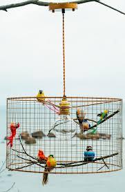 Birdcage Pendant Light Chandelier Copper Birdcage Pendant L Pinteres