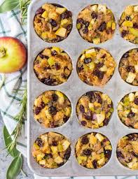 muffins with sausage and apples