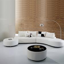 canapé circulaire moderne arc forme de demi lune canapé designs en cuir demi