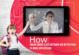 online smart class how online smart class software are better than in house