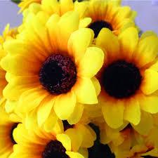 artificial sunflowers 1 bouquet lifelike artificial sunflower artificial plastic