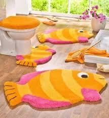 Fish Bath Rug Inspiringly Awesome 5 Piece Bathroom Rug Sets Of Playful And