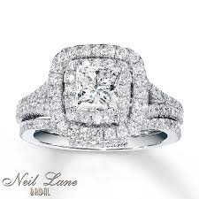 neil bridal set neil bridal set 2 1 4 ct tw diamonds 14k white gold