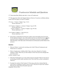frankenstein questions winter 2016