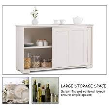 kitchen cabinet sliding doors kitchen storage cupboard cabinet with sliding door white