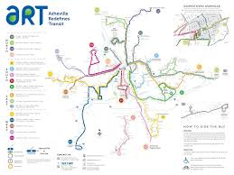 Map Of Asheville Nc Asheville Transit Authority Bus Routes Maplets