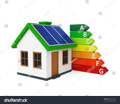 house energy efficiency level stock illustration 266319407