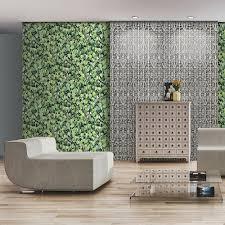 muriva iron trellis pattern wallpaper realistic ornate photo l14708