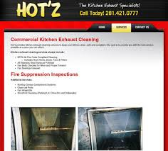 hood u0026 vent cleaning website design analysis u2014 houston tx