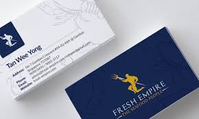 Singapore Business Cards Fresh Empire Business Card Seafood Exporting Company