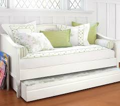 white metal daybed with pop up trundle frames trundles and