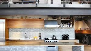silver wall mount chimney range hood industrial style kitchen