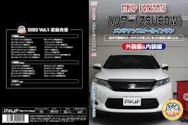 toyota harrier 2016 interior maintenance dvd shop mkjp rakuten global market in parts